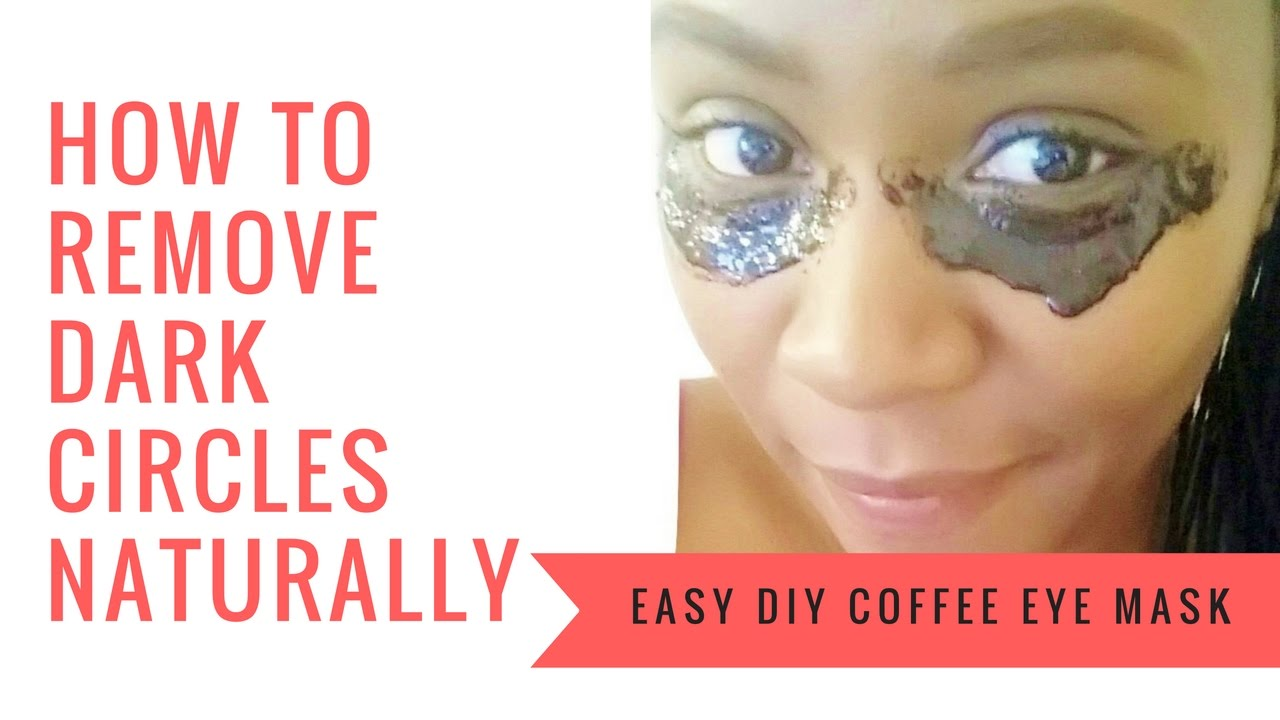Coffee Eye Mask for Dark Circles & Puffy Eyes | GET RID OF ...
