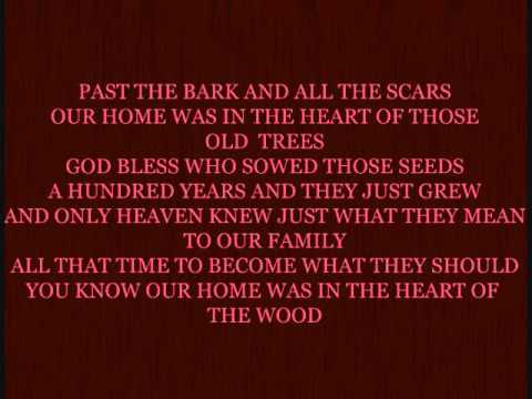 JOEY AND RORY - HEART OF THE WOOD WITH LYRICS
