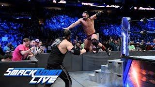 HINDI - Tye Dillinger vs. Baron Corbin: SmackDown LIVE, 30 January, 2018