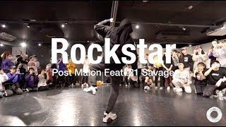 "Junsun Yoo "" Rockstar - Post Malone Feat. 21 Savage "" 1MILLION WORKSHOP @En Dance Studio SHIBUYA"