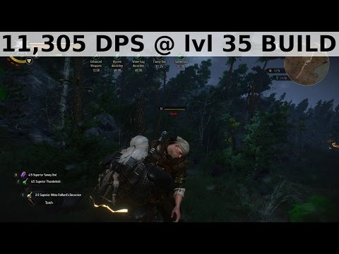 Witcher  Lvl  Fast Attack Build