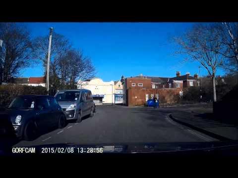 GORFCAM - Car Crash - Woodley Road, Woolston, Southampton