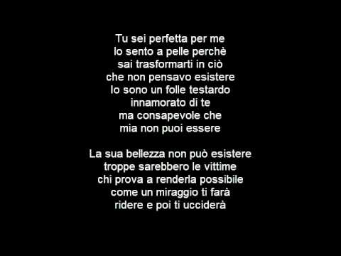 Modà - La Sua Bellezza TESTO/LYRICS HD