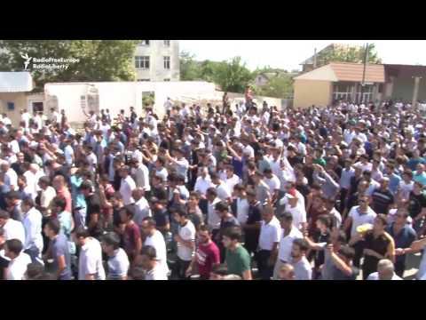 Huge Mafia Funeral In Azerbaijan