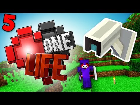 I'M BEING SPIED ON! Minecraft One Life SMP...