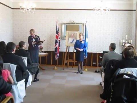 British Citizenship Ceremony - Kirkcaldy,  Fife - 27 April 2016 - Part 1