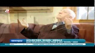 Fethullah Gülen'den bol 'Ekmel'li dua ...!!!!! 7.8.2014