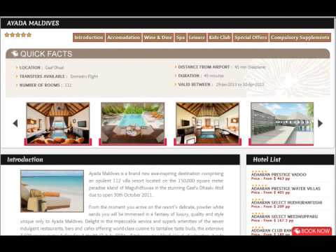 Hotac Maldives Web Booking Online by Get Into Maldives