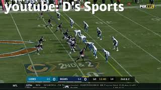 Mitchell trubisky highlights vs the lions