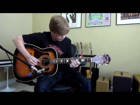 Harmony Guitar model H1266 demo by guitarist Greg V.