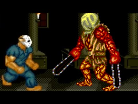 Splatterhouse (PC Engine) All Bosses (No Damage)