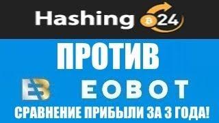 ШОК! EOBOT выгоднее Hshing24! - Расчет прибыли за 3 года при равных вложениях. SHA-256 GHS