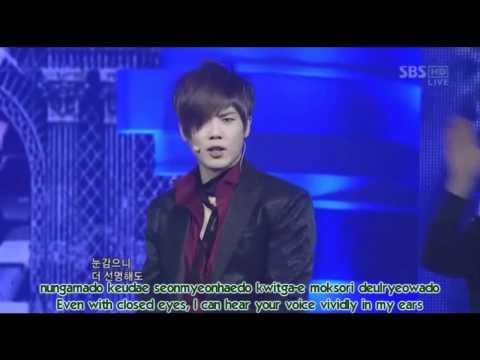 ROM/HAN/ENG; 5 members; SS501 U R Man live