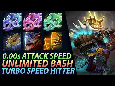 Dota 2 Custom Hero Chaos - 0.00s Attack Speed Unlimited Bash