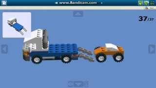 Как сделать мини эвакуатор из Lego