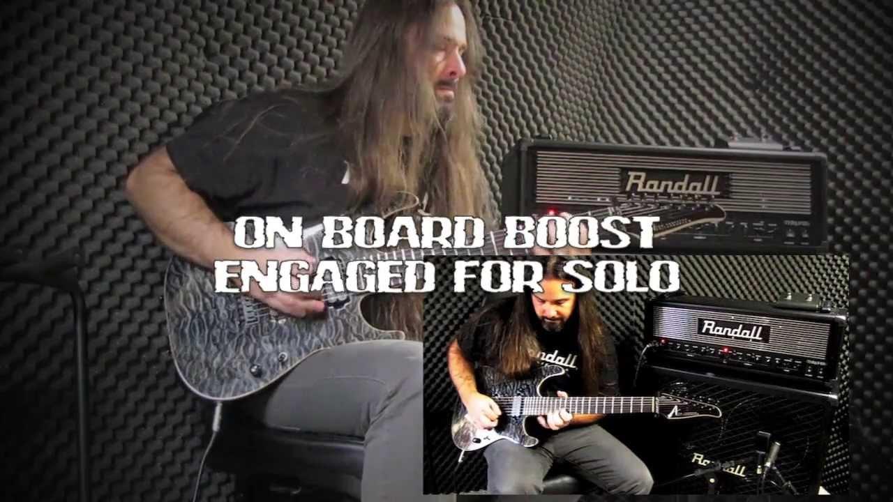 Randall Amplification Thrasher - Metal - YouTube