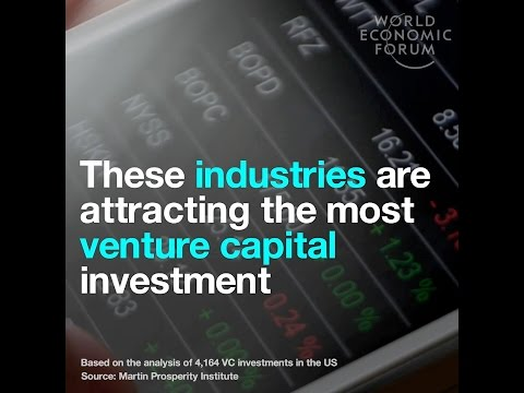 These industries are attracting the most venture capital investment
