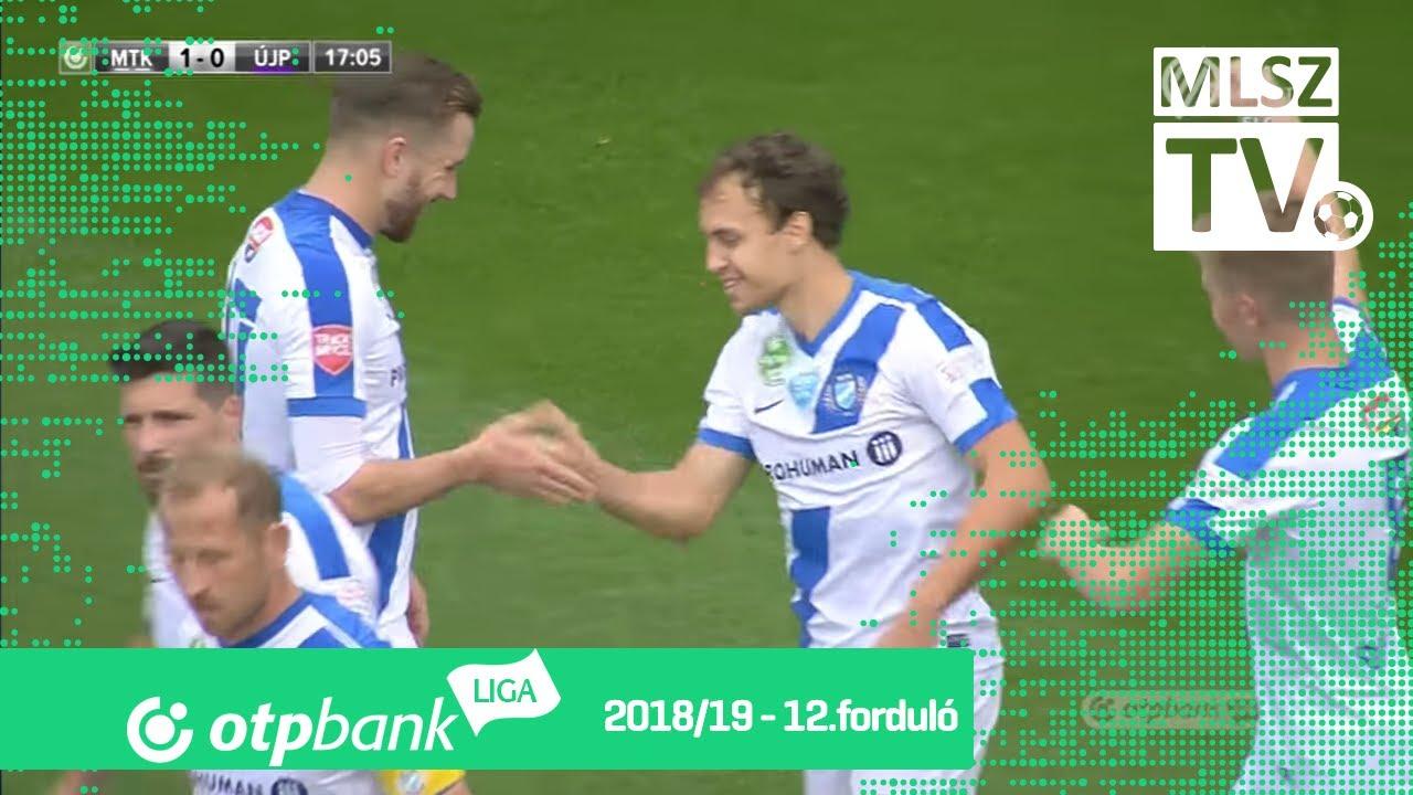 Bognár István gólja az MTK Budapest - Újpest FC mérkőzésen