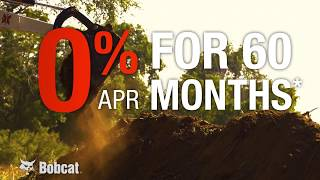 Bobcat Compact Excavator 0% for 60 Months