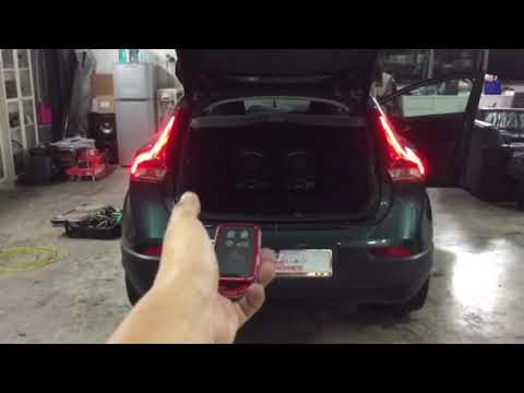Volvo V40👉2014 Installed Electronic Tailgate Lift N Vaccum Lock