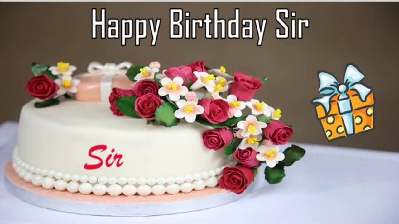 Happy Birthday Sir Image Wishes Youtube