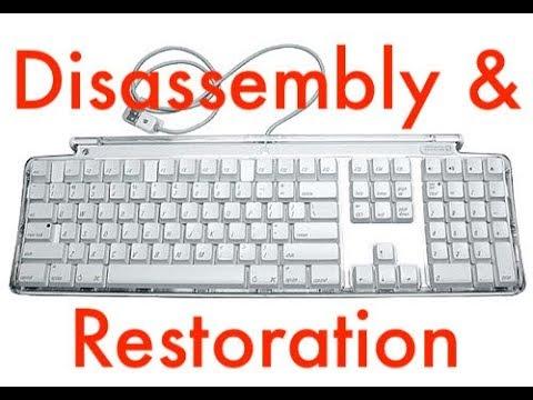 Apple Pro Keyboard (M7803) Disassembly & Restoration