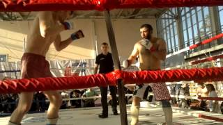 ММА с порванными связками колена и одним глазам...Ханлар Азизов