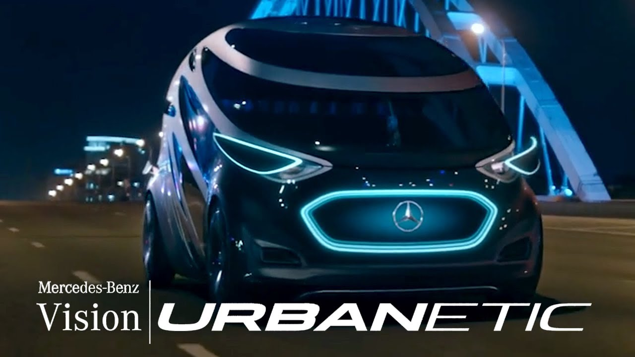 Mercedes Benz Vision Urbanetic Youtube
