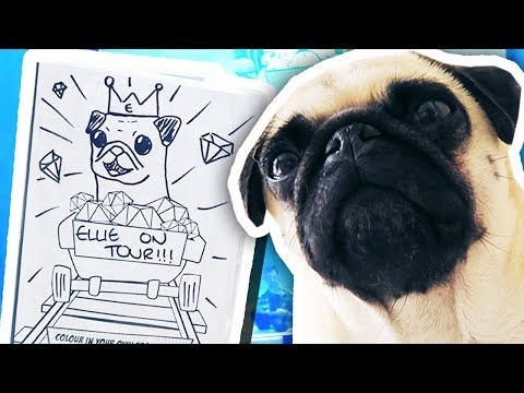 Thumbnail: ELLIE DRAWS MY NEW DVD COVER!!!