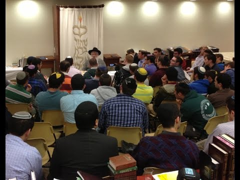 Modern Orthodox Yeshiva Students Blown Away After Hearing  Chabad's Philosophy