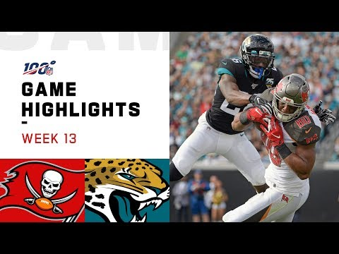 Buccaneers Vs. Jaguars Week 13 Highlights | NFL 2019