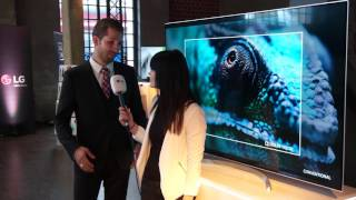 LG SIGNATURE SUHD 4K TV | Roadshow 2017