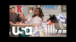Big Star Little Star | Real Housewife Phaedra Parks Shows Off Her Cheerleading Skills | USA Network