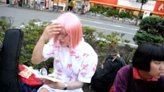 090913 高円寺路上『何が可笑しい〜』再結成!? Part.2