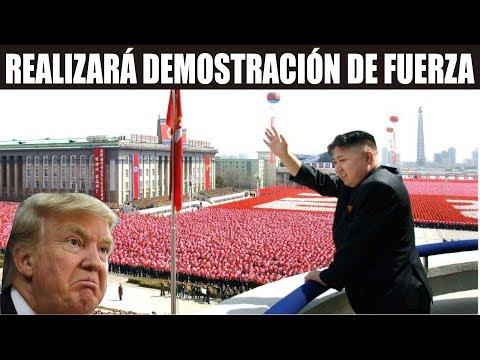 Ultimas noticias de NORCOREA, DEMOSTRACIÓN DE FUERZA ¡EEUU REACCIONA! 18/01/2018