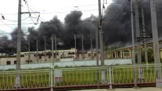 Страшный пожар на металлострое, Ленинградская область