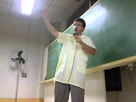 ETAPA 2010 - Leandro com seu discurso de final de ano - SJ N11 (Sala 22)