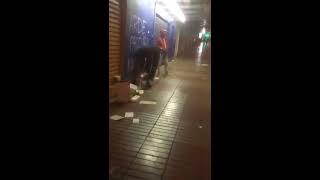 SAQUEOS EN CHILE - ANTOFAGASTA - SAQUEAN TODO EL CENTRO DE LA CIUDAD