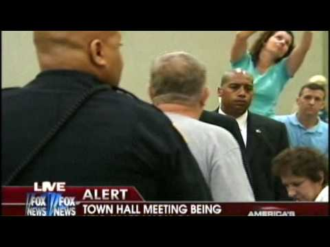 All Hell breaks loose on Arlen Specter Town Hall  August 11, 2009 Fox News