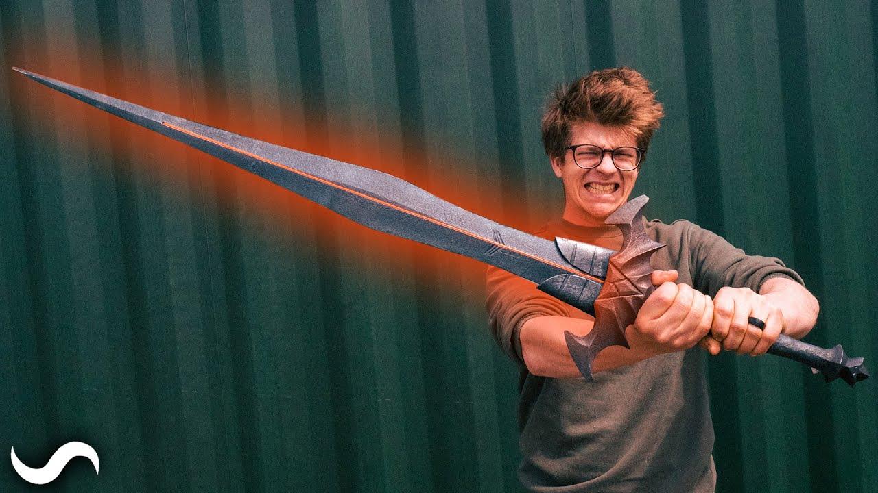 Download MAKING NOKVROZ'S GLOWING SWORD FROM THE ELDER SCROLLS ONLINE!!!