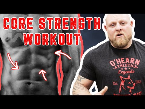 STRONGER ABS Now! Do These 4 Exercises your Next Workout (Strengthen|Tone|Build Core Muscle Fast!)