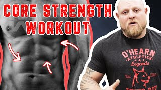 STRONGER ABS Now! - Do These 4 Exercises your Next Workout (Strengthen|Tone|Build Core Muscle Fast!)