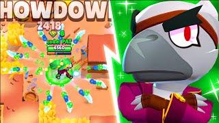 NEW CROW is INSANE... (new brawl stars update)