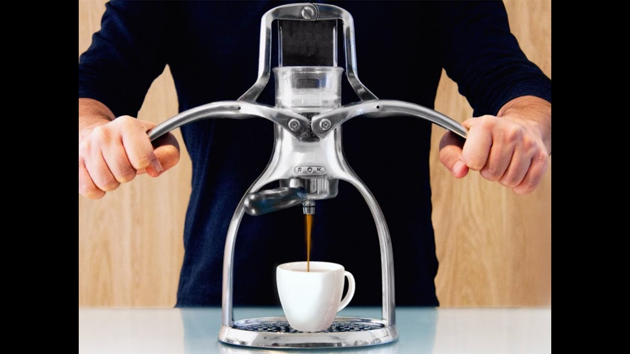 Rok Espresso Maker Youtube