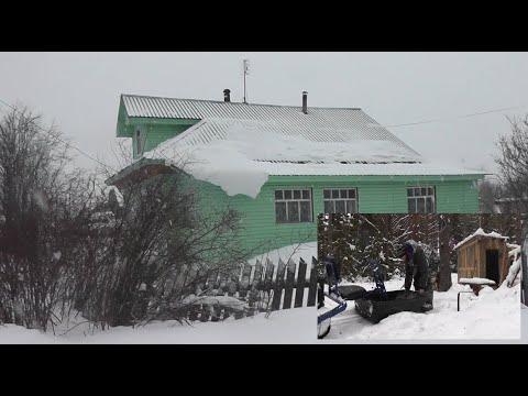 """Купили домик в """"ДЕРЕВНЕ"""". По лесу с ВЕТЕРКОМ. Готовимся к БОЛЬШОЙ РЫБАЛКЕ!"""