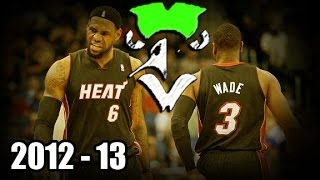 NBA Top 20 LeBron James-Dwyane Wade Duo Plays of the 2012-13 Reg. Season
