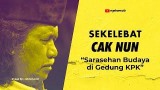 """Download Video Cak Nun """"Angkat Bicara"""" Negara Indonesia #DuaTahunNovel MP3 3GP MP4"""
