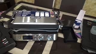 DeLonghi MultiGrill CGH 1030G распаковка и комплектация