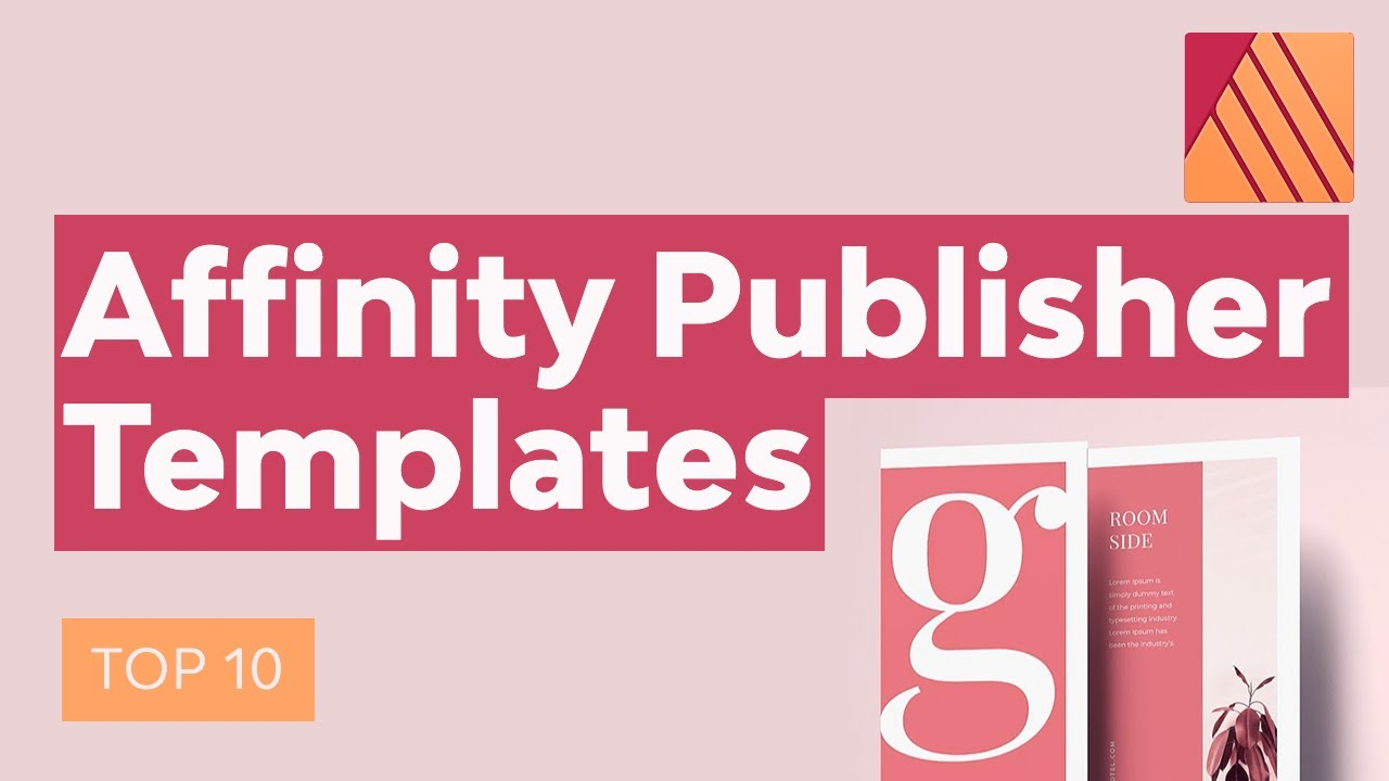 10 Best Affinity Publisher Templates Including Brochure Templates Youtube