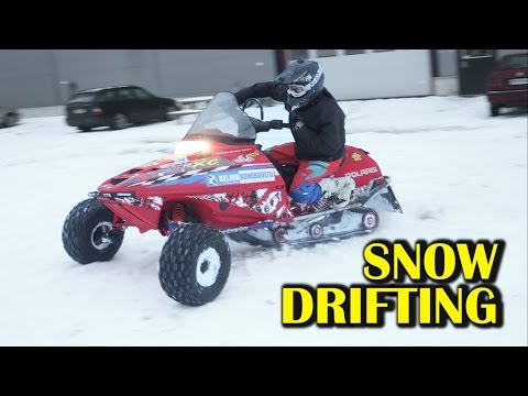 SNOW DRIFTING Aka LINTTA Video
